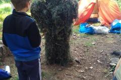 Kinder-Outdoor Ninja Bujinkan Ninjutsu
